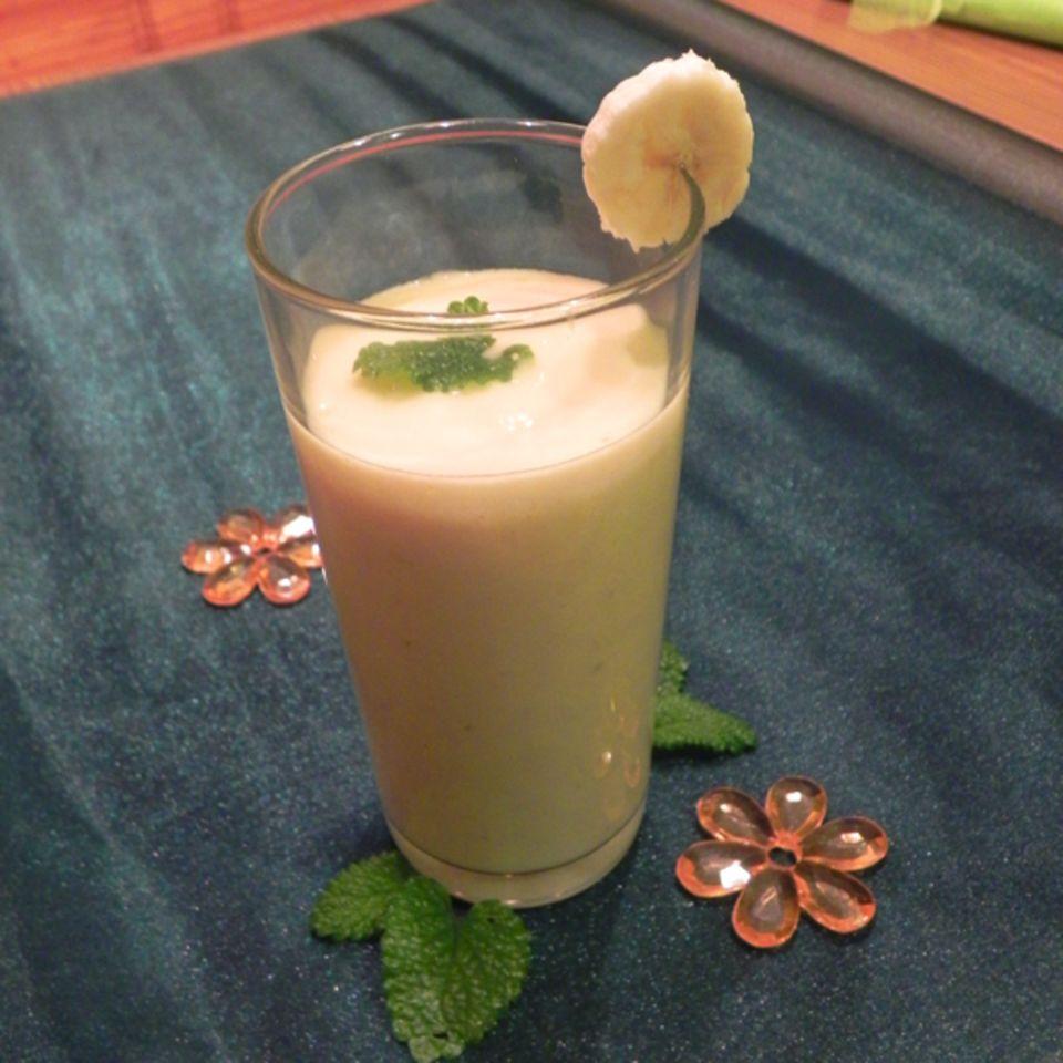 Mango-Smoothie mit Banane