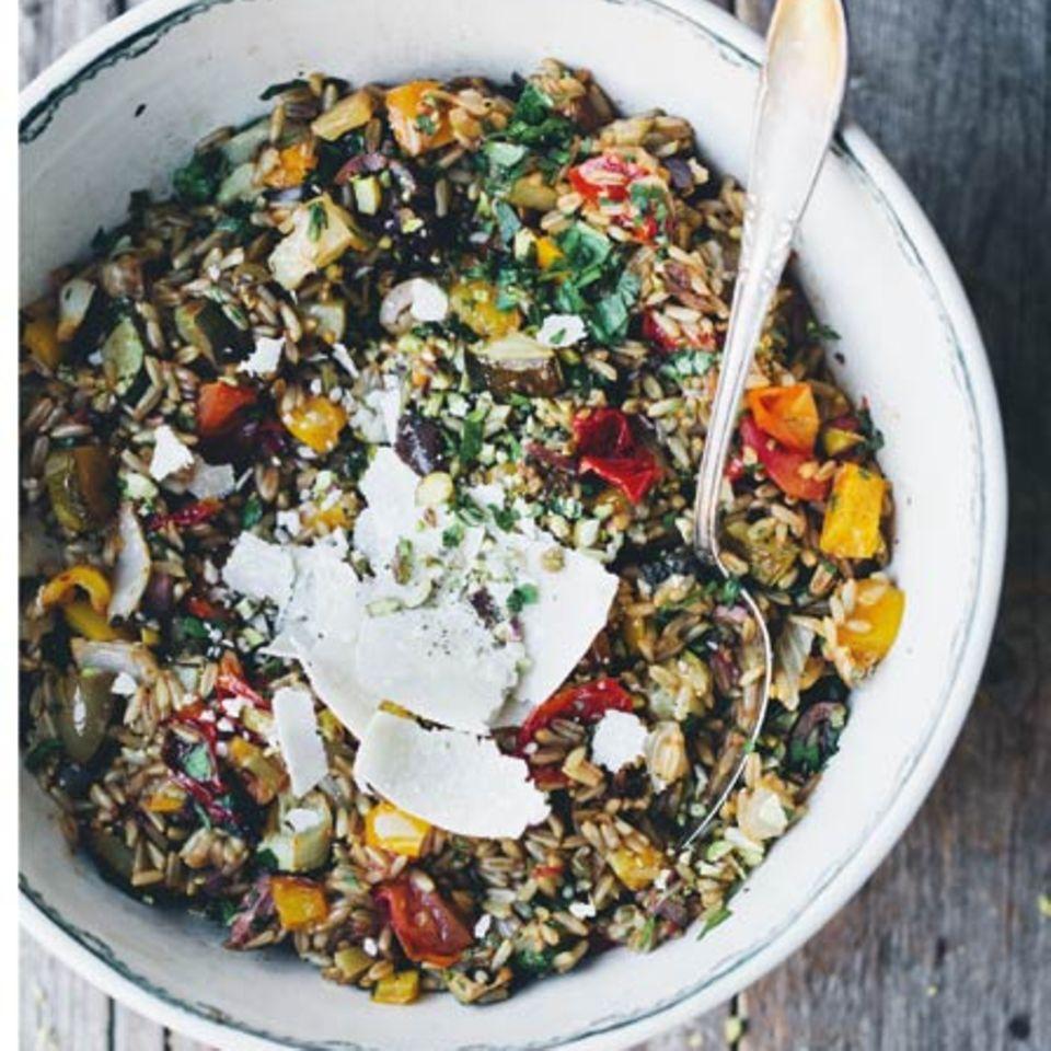 Farro-Salat (Dinkelsalat)