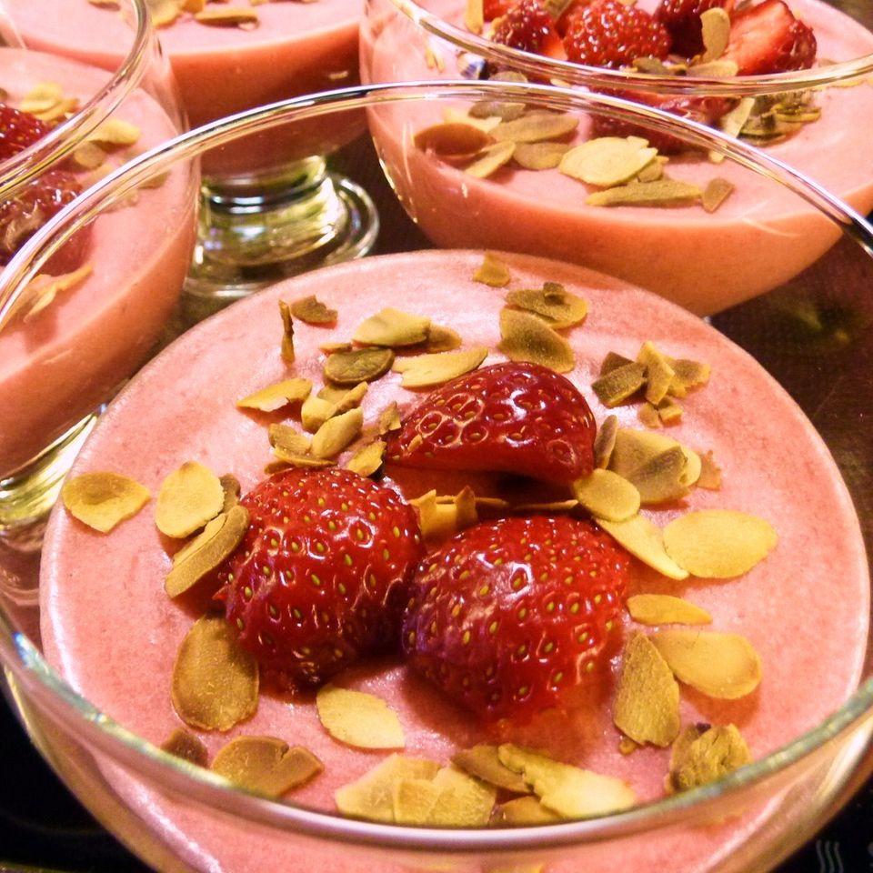 Erdbeer-Mousse