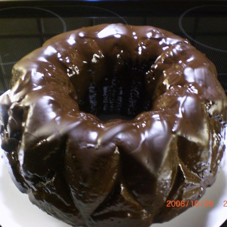 Nuss-Schokoladenkuchen (mit Hermann-Teig)