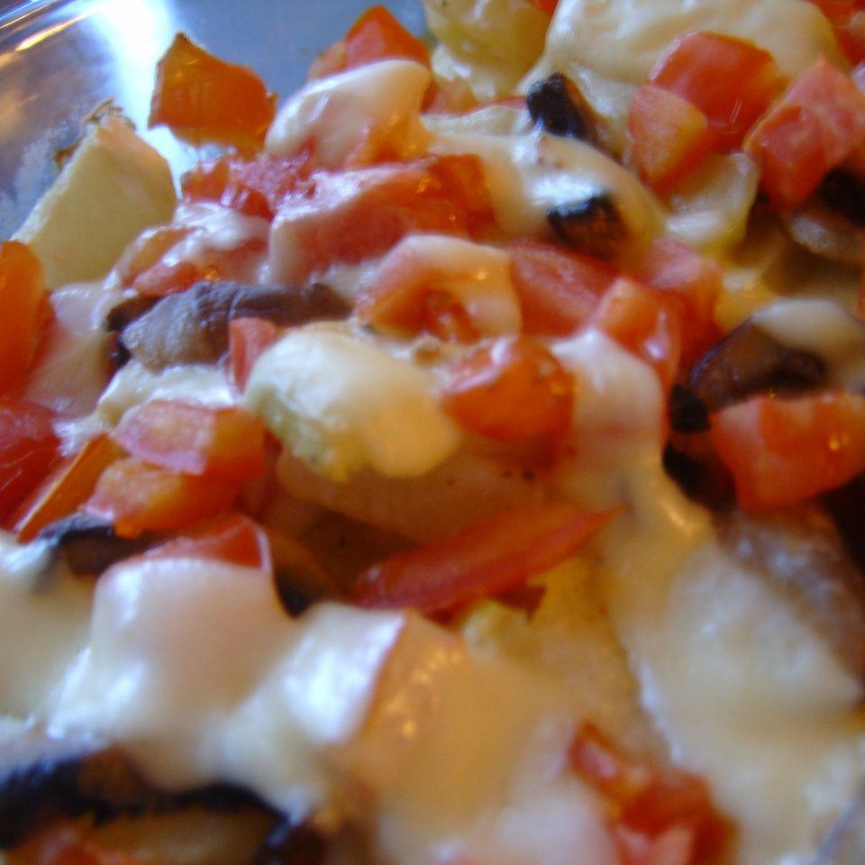 Kartoffel-Kohlrabi-Gratin