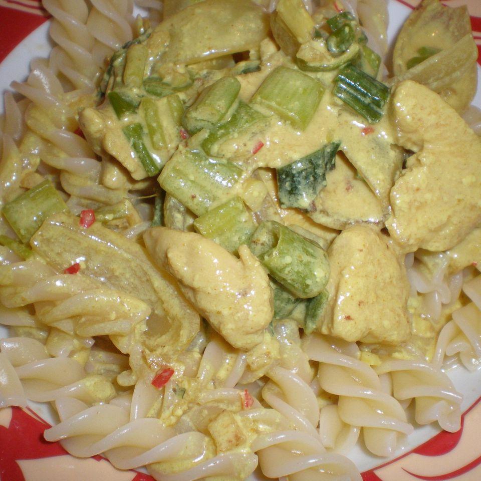 Hähnchen-Zwiebel-Curry