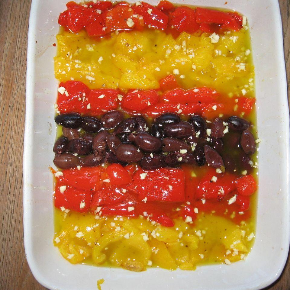 Eingelegte Paprika und Oliven à la Finale 2008