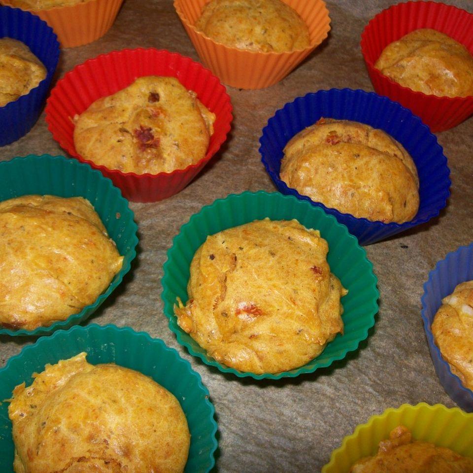 Scharfe Arrabiata-Muffins