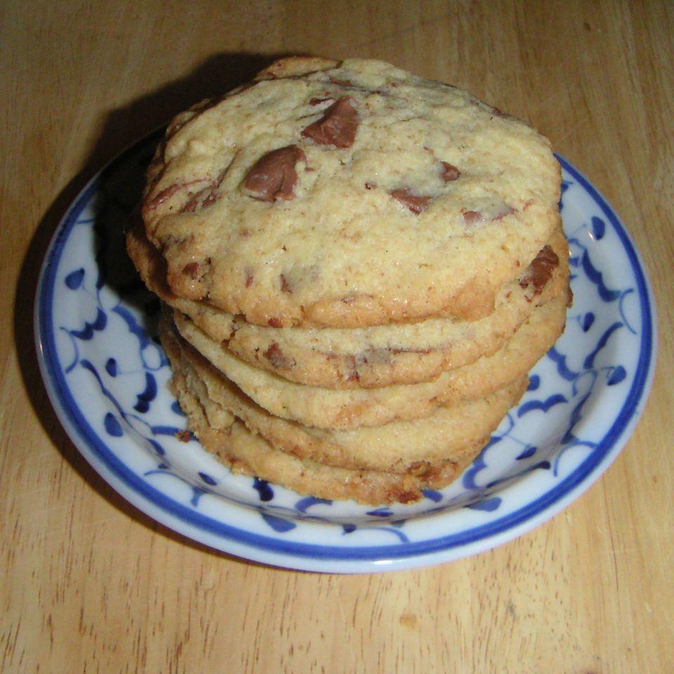 Chocolate Chunk Cookies (Schokoladenkekse) - frei nach einer Entdeckung von Mosi
