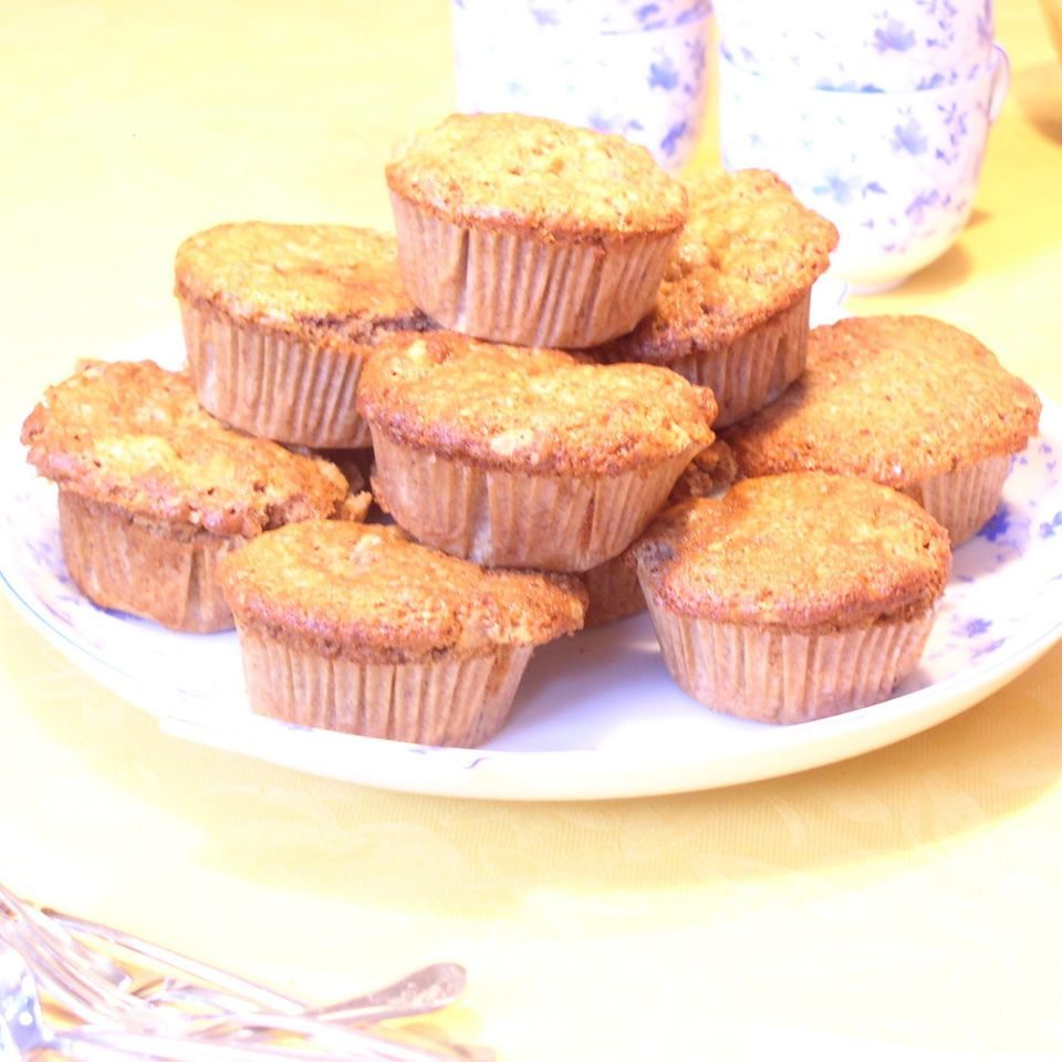 Vorweihnachtliche Apfel-Walnuss-Muffins