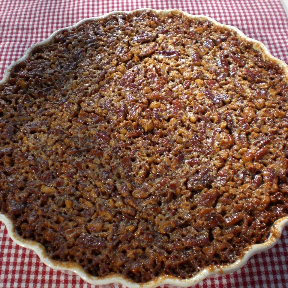 Pecan-Pralinen-Pie mit Bourbon Whiskey
