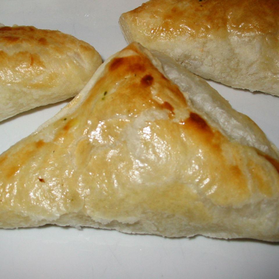 Spinat-Mozzarella-Ecken