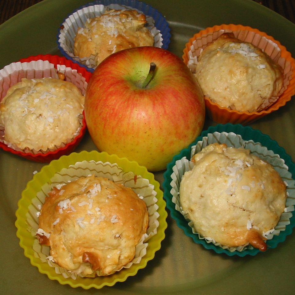 Apfel-Kokos-Muffins