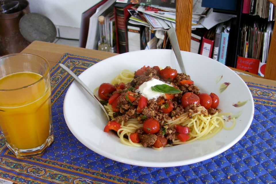 Spanische Spaghetti