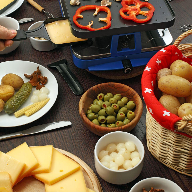 Raclette: Zutaten, Rezepte und Tipps