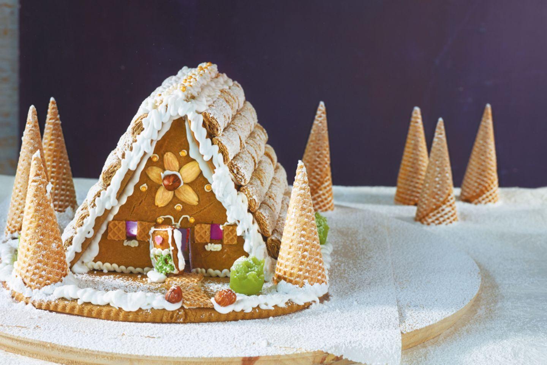 Rezept Fur Dein Weihnachtliches Lebkuchenhaus