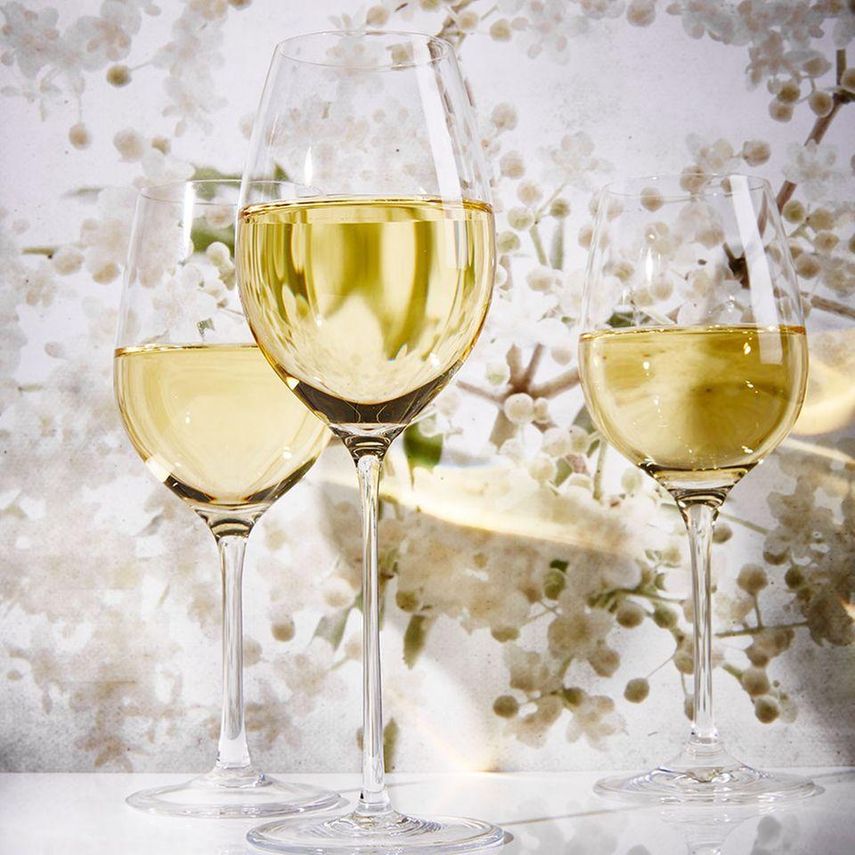 Auch Weißweine eignen sich zur Lagerung, wie z.B. Riesling.