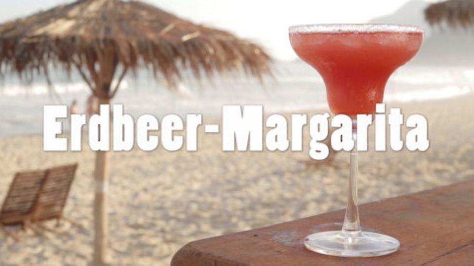 Rezept für Erdbeer-Margarita