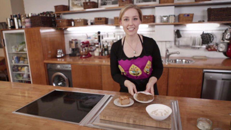 """Rezept für Vegane Mayonnaise und """"Wurstsalat"""" von Nicole Just"""