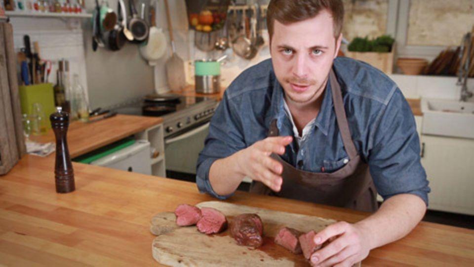 Steak richtig braten