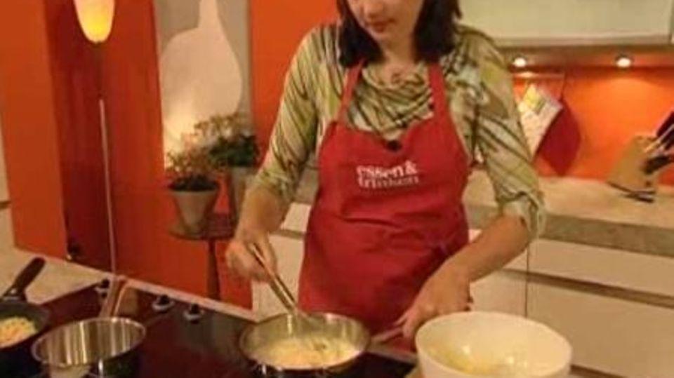 Erdbeertorte mit Vanille-Ricotta-Creme