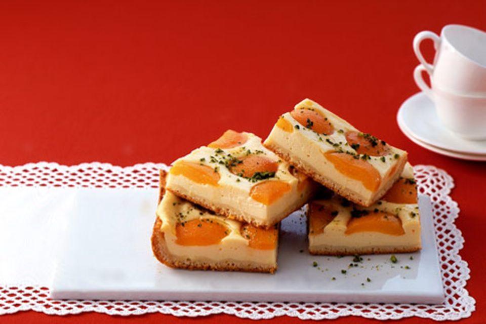 Aprikosen-Quarkkuchen