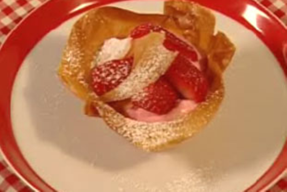Erdbeertörtchen