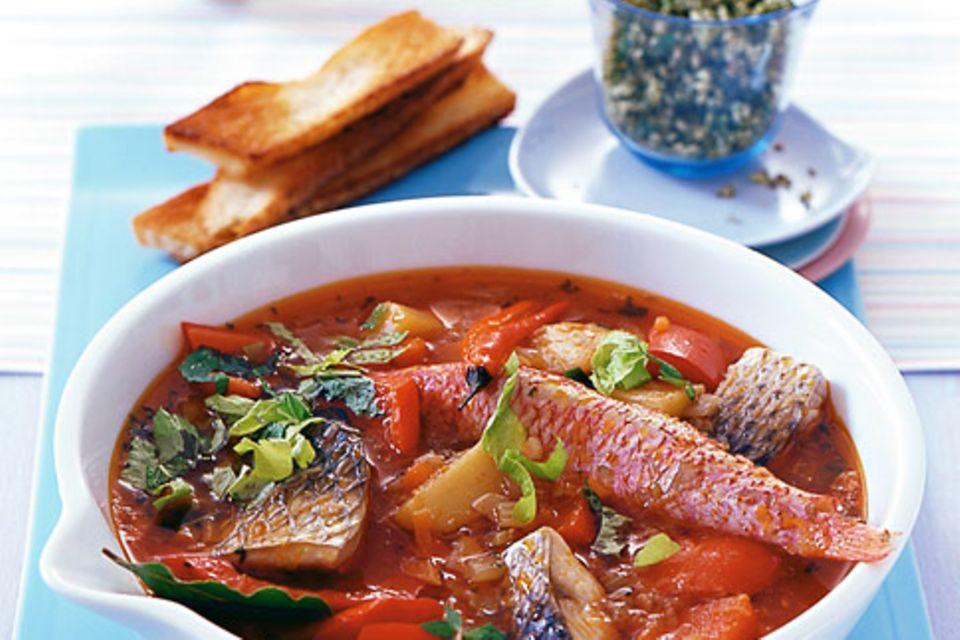 Fischeintopf (Caldereta)