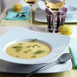Fenchelsuppe mit Curry