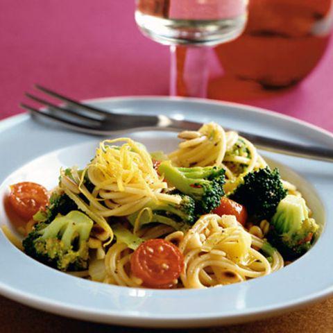 Spaghetti mit Broccoli