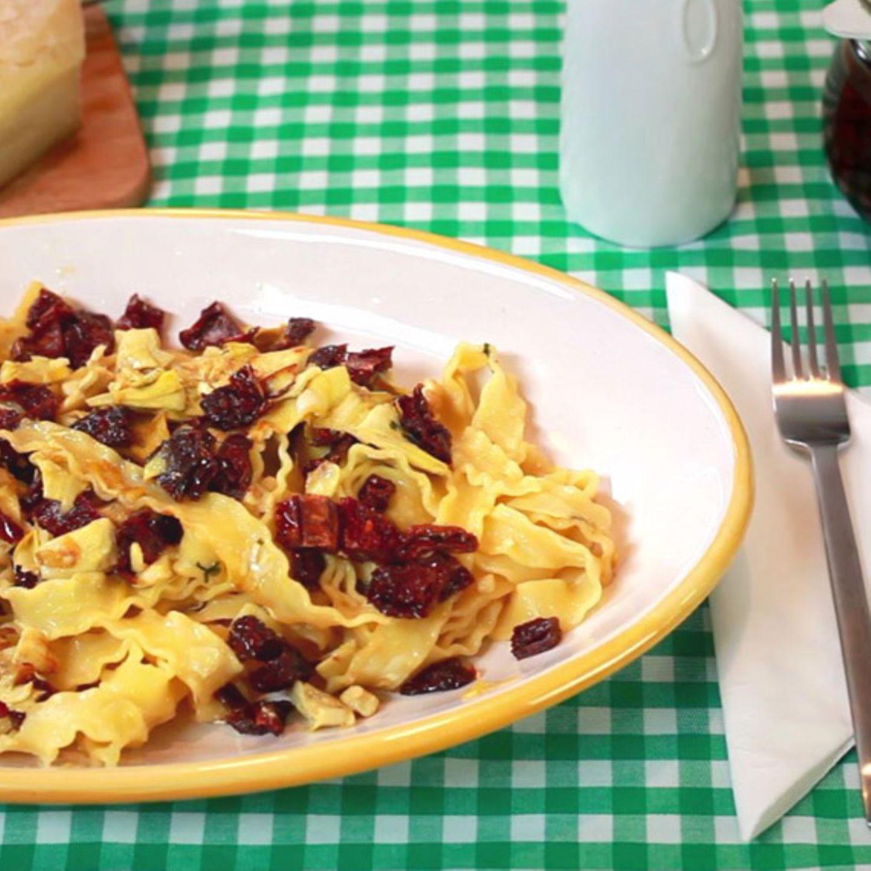 Rezept für Mafaldine Con Carciofi von Luisa Giannitti