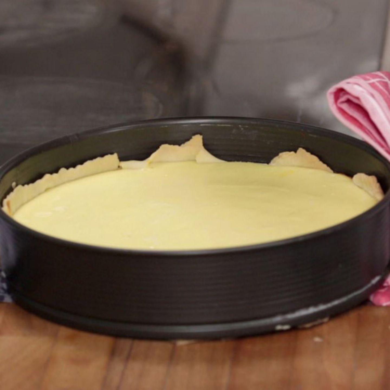 Rezept für Käsekuchen mit Mürbeteigboden von Rike Dittloff