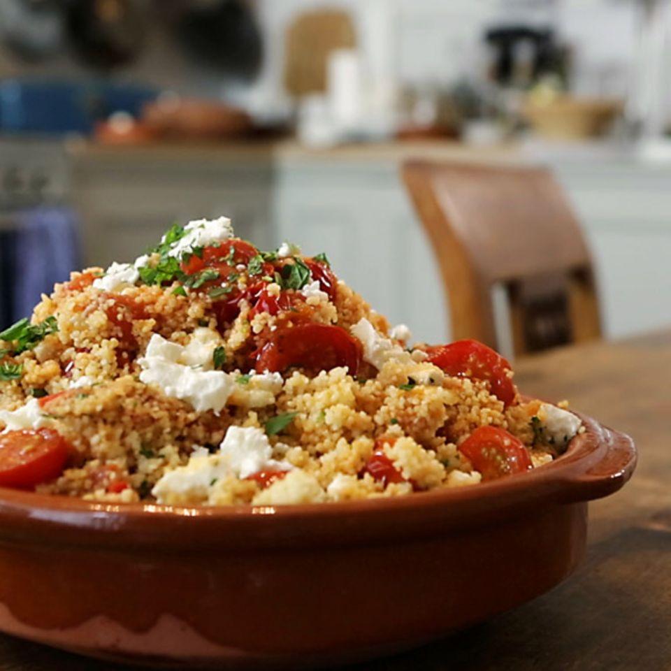 Rezept für Tomaten-Couscous