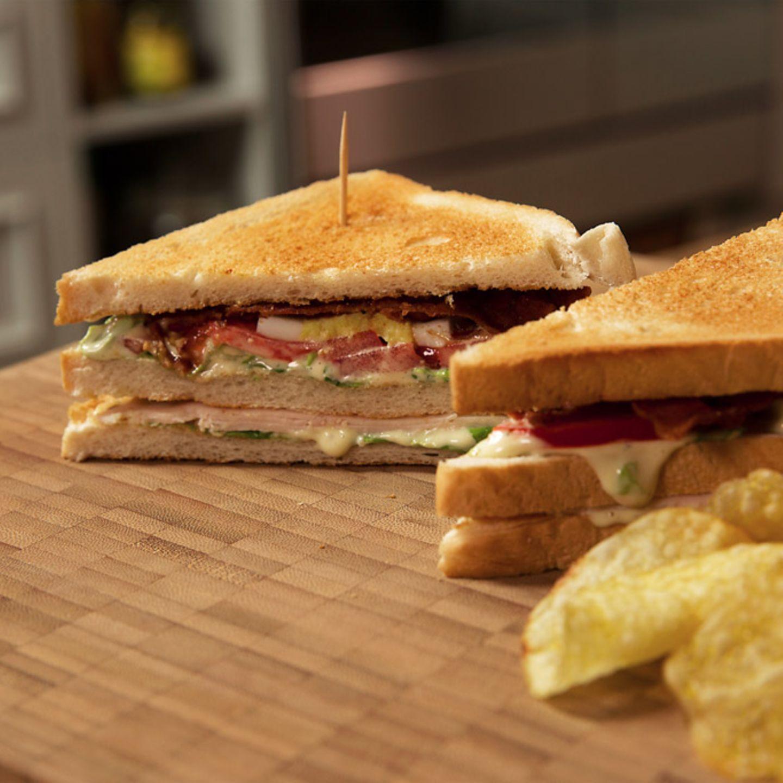 Rezept für New York Club Sandwich