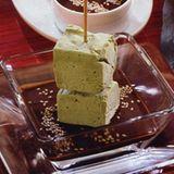 Parfait vom grünen Tee