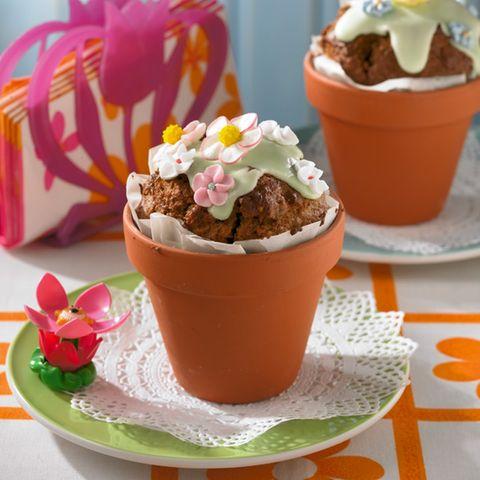 Blumentopf-Kuchen
