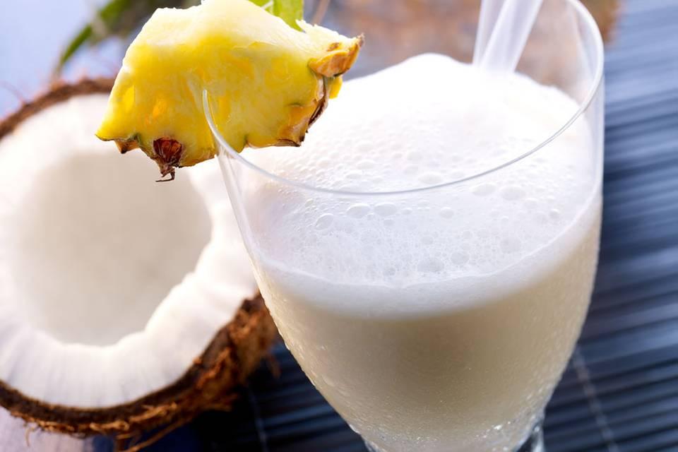Mineralwasser-Cocktail: Palmenkuss Rezept