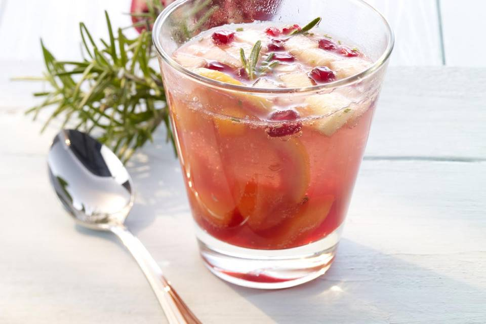 Mineralwasser-Cocktail: Spanish Heart Rezept