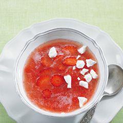 Erdbeersüppchen
