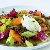 Linsen-Gemüse-Salat