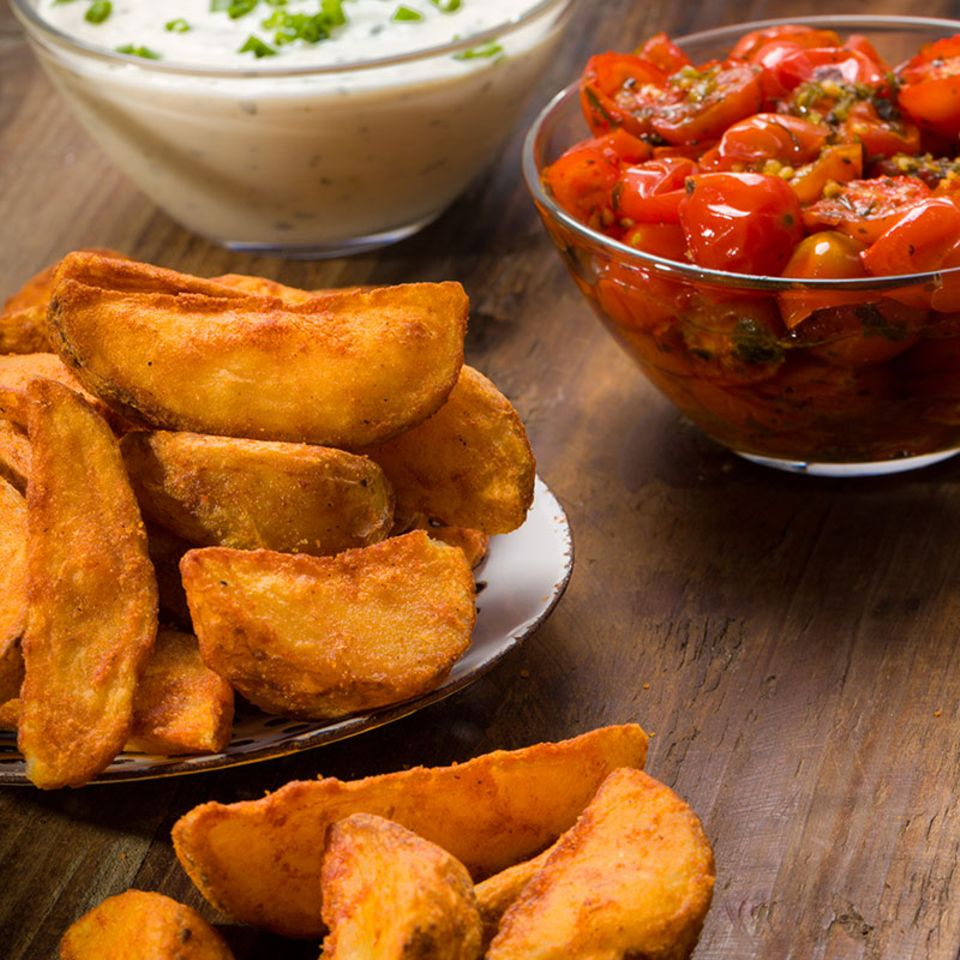 Wedges: leckere Country Potatoes
