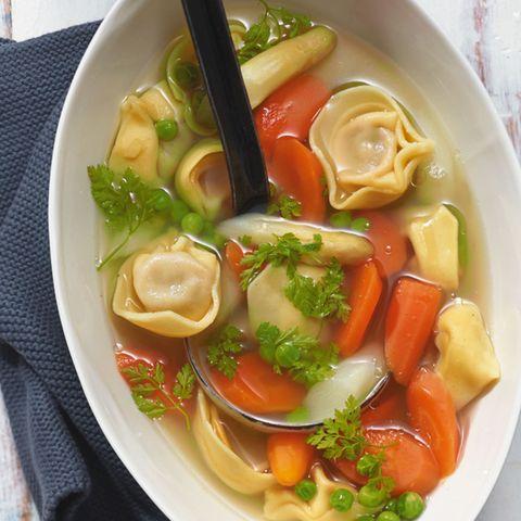 Tortellini-Gemüse-Eintopf