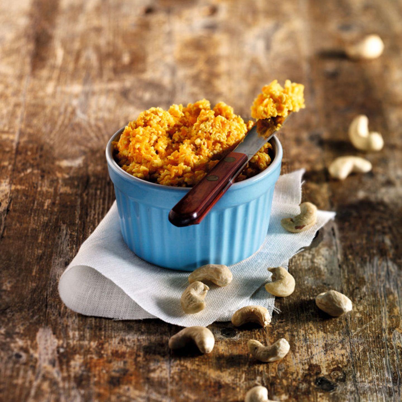 Karotten-Cashew-Aufstrich