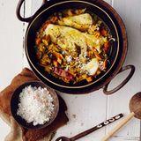 Fischcurry mit Kokos-Sambal