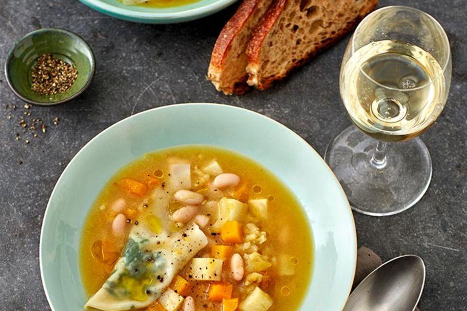 Suppen & Eintöpfe mit Kürbis