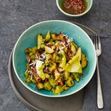Wintergemüse mit Stampfkartoffeln und Quinoa