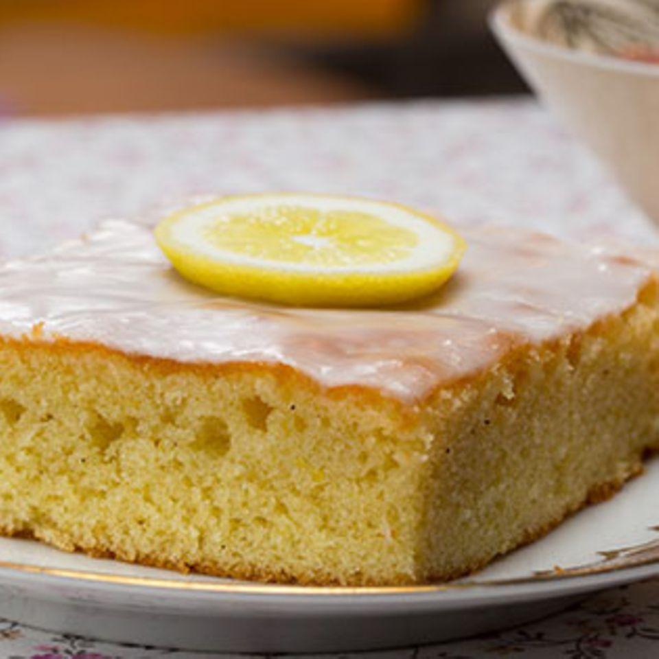 Zitronenkuchen: Rezept und Tipps