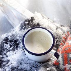 Weißer Chai-Kakao