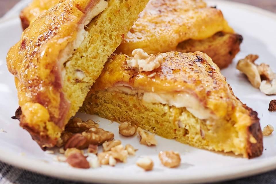 Bananen-Sandwich  Rezept