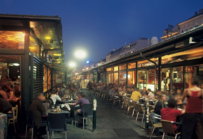 Marktleben in Wien
