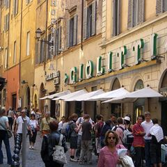 Eisgenuss in Rom