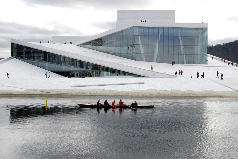 Moderne Architektur in Oslo