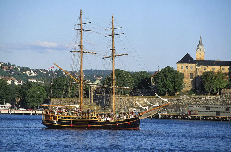 Oslo mit dem Segelschiff