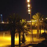 Barceloneta bei Nacht